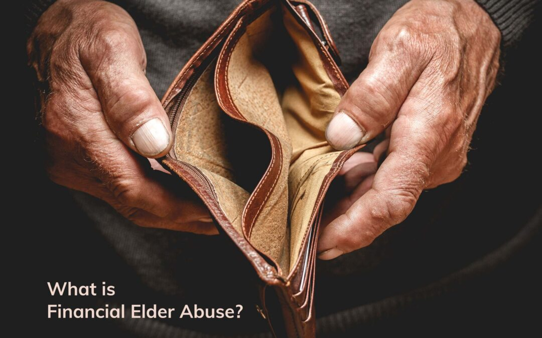 What is Financial Elder Abuse and a story that will knock your socks off!